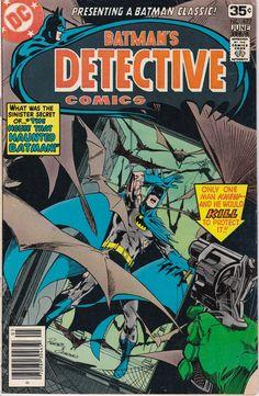 Detective Comics #477 - June 1978 Issue - DC Comics - Grade VG/F