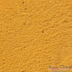 Metallic acrylics for nails: InspirationZ Gold