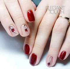 Pretty Spring Floral Nail Designs You Must Try 2019 Spring will start one week later and we're already welcoming the season with cheerful nail art from Nude Nails, Pink Nails, Acrylic Nails, Tulip Nails, Fancy Nails, Stylish Nails, Trendy Nails, Hair And Nails, My Nails