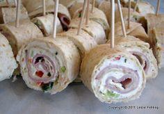 Savory Appetizer Tortilla Ranch Roll-Ups