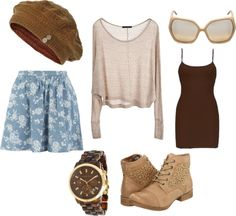 """brown"" by morgan-eva on Polyvore"