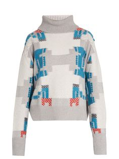 Press Play cashmere roll-neck sweater | Barrie | MATCHESFASHION.COM UK
