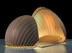 somebody please finance this awesome shell-inspired performance space