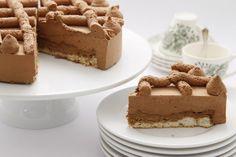Royal Chocolat Valrhona, Mousse, Tiramisu, Cheesecake, Sweets, Chocolate, Baking, Ethnic Recipes, Desserts