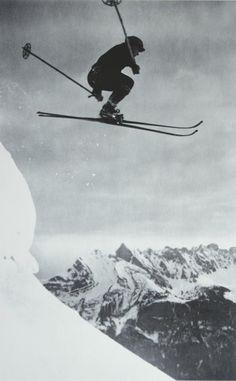 / vintage ski
