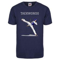 Camiseta Taekwondo Unisex Navy - €24.99   https://soloartesmarciales.com    #ArtesMarciales #Taekwondo #Karate #Judo #Hapkido #jiujitsu #BJJ #Boxeo #Aikido #Sambo #MMA #Ninjutsu #Protec #Adidas #Daedo #Mizuno #Rudeboys #KrAvMaga #Venum