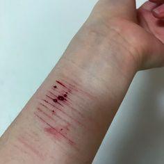 #selfharming #selfharm #자해 #wristcut