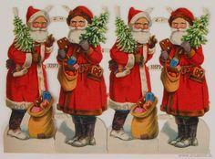 German Christmas Cookies, Old Christmas, Christmas Decorations, Christmas Ornaments, Old Things, Santa, Ebay, Embroidery