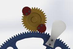Beavertail Indexer Mechanism