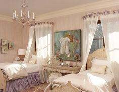 Teen Girl Bedroom Decorating Ideas | Canopy Beds with Sheer Material | DIY Girls Bedroom Ideas