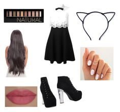 """""""This reminds me of Mila"""" by lolobug-cx ❤ liked on Polyvore featuring Valentino, Jeffrey Campbell, Forever 21 and She's So"""
