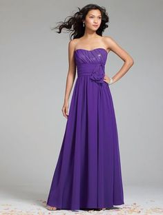 Alfred Angelo 7242 A Line Formal Dress | MagicMomentsCollections.com