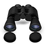 High Magnification Binoculars,Bial 10X50 HD Professional Super High-Powered Surveillance Compact Folding Roof Prism Telescope Clear Vision for Bird Watching, Hunting,Travel and More ( Black )