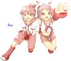 sakura vocaloid   Render Vocaloid - Renders Vocaloid Rin Len Kagamin Twist Rose Sakura ...