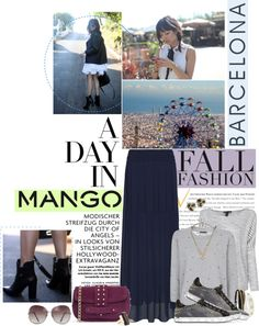 """""""Winter Aesthetic with Mango and That's Chic"""" by catterson ❤ liked on Polyvore"""