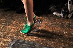 acrilyc heels