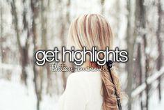 get highlights #bucketlist