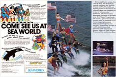 DC Comics Ski Show Sea World