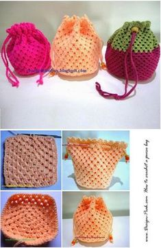 Purse Bag Crochet Pattern