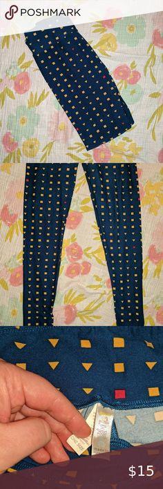 BoxN LuLaRoe Kids Leggings L//XL New Burgundy W// Purple Polka Dots