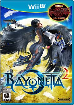 Bayonetta 2 exclusively for #WiiU - Bayonetta returns with a new game, the original game Bayonetta 1, and Link Samus costumes ALL IN THE SAME PACKAGE!
