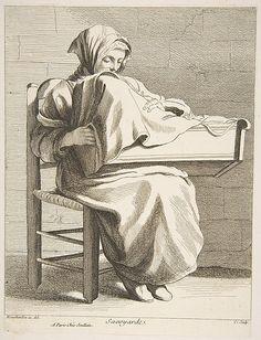 Anne Claude Philippe de Tubières, comte de Caylus | A Woman From Savoy | The Metropolitan Museum of Art, NYC