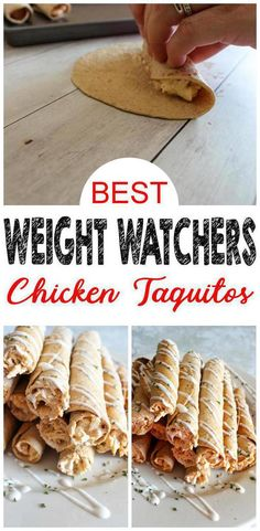 Weight Watcher Buffalo Chicken Taquitos – EASY Weight Watcher Chicken Recipe – BEST Dinner – Snack – Appetizer or Party Food Idea - BEST Weight Watchers Buffalo Chicken Taquitos Recipe! Chicken Taquitos are a great side dish, snack - Poulet Weight Watchers, Weight Watchers Lunches, Plats Weight Watchers, Weight Watcher Dinners, Weight Watchers Chicken, Healthy Low Calorie Meals, Low Calorie Dinners, No Calorie Foods, Low Calorie Chicken Recipes