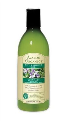 Avalon Organics Bath & Shower Gel, Rosemary, 12 Ounce by Avalon Organics. $8.28. 12 Ounces Gel. Serving Size: 1/2 oz.. Enriched with Vitamin E, panthenol and arginine. Gently cleansing, rejuvenating lather of rosemary moisturizes and softens the skin. Avalon Organics - Consciousness in cosmetics. Our pledge. Your assurance. Safe, effective, pro-organic body care without a