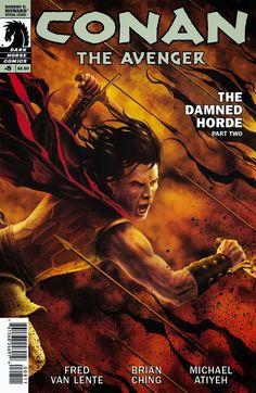 Dark Horse Cover of the Day: Conan The Avenger #8