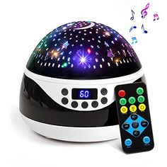 Access Control Loyal Remote Control Multicolor Ocean Wave Projector Nightlight Baby Lamp With Mini Music Player Fit For Any Holiday Party Decorations