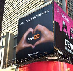 Pornhub Billboard