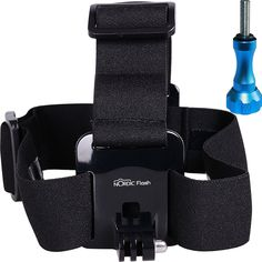 Nordic Flash Head Strap Mount with Aluminum Thumbscrew for GoPro Cameras, Black >>> Click image to review more details. (This is an Amazon Affiliate link and I receive a commission for the sales)