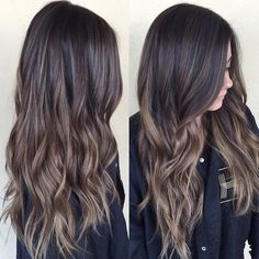 brunette balayage, LOVE that it's caramel not orange! - Studentrate Trends - - brunette balayage, LOVE that it's caramel not orange! Brown Ombre Hair, Brown Sombre, Sombre Vs Ombre, Dark Sombre Hair, Hair Color Ideas For Brunettes Balayage, Brunette Hair, Brunette Sombre, Balayage Hair, Hair Colors