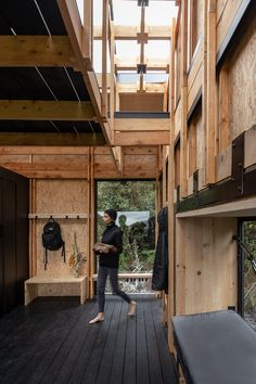 FRAME | 3 architects design a home fit for digital nomads in the Ecuadorian Andes Types Of Insulation, Timber Structure, Wooden Buildings, Circular Economy, Cabin Design, Digital Nomad, Architect Design, Design Process, Ecuador