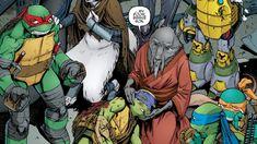 Attack On Technodrome – Death of Donatello