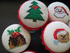 Christmas Time, Cross Stitch, Christmas Decorations, Winter, Punto De Cruz, Xmas, Winter Time, Christmas Decor, Crossstitch