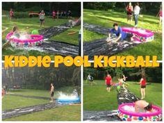 Kiddie Pool Kickball https://m.youtube.com/watch?v=QSZJvJ0kg6o
