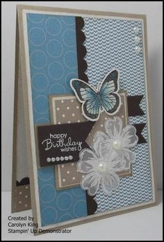 I made this card a few weeks ago for the Mojo Monday Challenge #341 but did not get around to posting it.  I loved the sketch layout so I th...