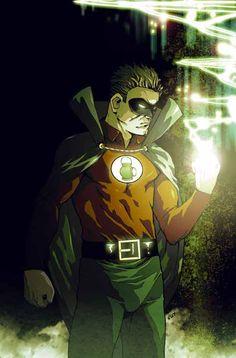 Alan Scott (Green Lantern) by Steve Uy
