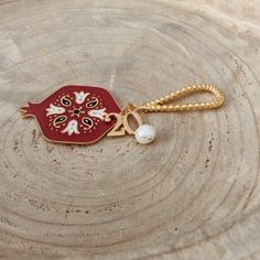 Twininas 20 red Lucky Charm (2)1000 Christmas Gift For You, Unique Christmas Gifts, Lucky Charm, Handmade Jewellery, Charmed, Brooch, Seasons, Red, Accessories