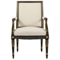 Gustavian Armchair | From a unique collection of antique and modern armchairs at http://www.1stdibs.com/furniture/seating/armchairs/