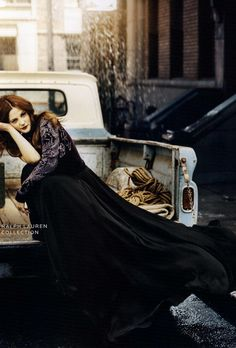 Drew Barrymore stars in Neiman Marcus Art of Fashion campaign, Fall/Winter 2011.