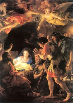 'Adoration of the Shepherds' by Anton Raphael Mengs, 1770