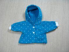 Puppenkleidung - 1Kapuzenjacke für Puppengröße 32 cm - ein Designerstück von…