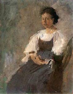 Olga Boznańska / Włoszka / 1896 / własność prywatna