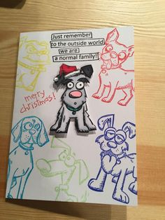 Dysfunctional Dog Family by Shirleysgirl - Cards and Paper Crafts at…                                                                                                                                                                                 More