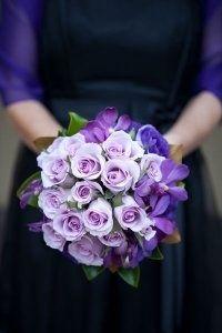 Lovely wedding flower #purple #wedding #flower