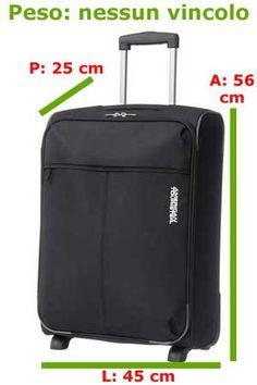 Guida al bagaglio a mano http://www.uniquevisitor.it/magazine/bagaglio-a-mano-in-aereo-misure-e-liquidi.php