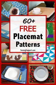 Fantastic 100 sewing hacks projects are offered on our web pages. Take a look and you wont be sorry you did. Sewing Patterns Free, Free Sewing, Placemat Patterns, Sewing Hacks, Sewing Tutorials, Sewing Tips, Sewing Projects For Beginners, Diy Projects, Place Mats Quilted