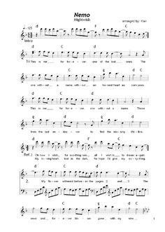 Nightwish - Nemo. One of my classic favourites.